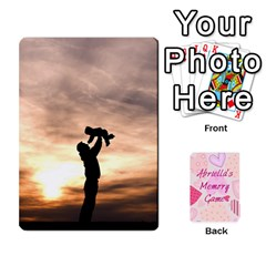 Queen Memory Cards By Christina   Playing Cards 54 Designs   Sn9xkcxn394t   Www Artscow Com Front - ClubQ