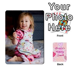 Memory Cards By Christina   Playing Cards 54 Designs   Sn9xkcxn394t   Www Artscow Com Front - Spade9