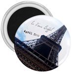 Eiffel Magnet 3 inches - 3  Magnet