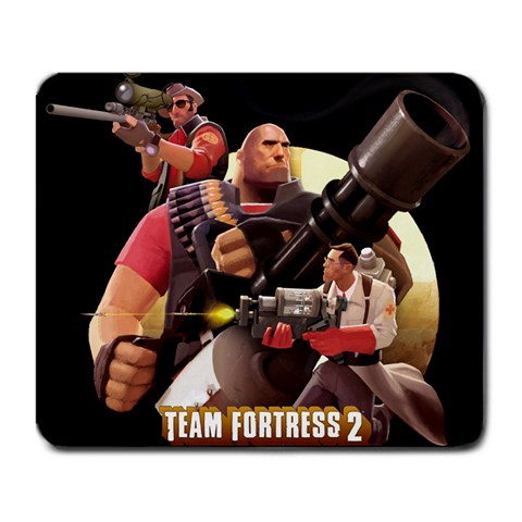 Team Fortress 2 By Person Mcgee   Large Mousepad   0ec4wx4kjgup   Www Artscow Com Front