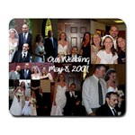 our wedding - Collage Mousepad
