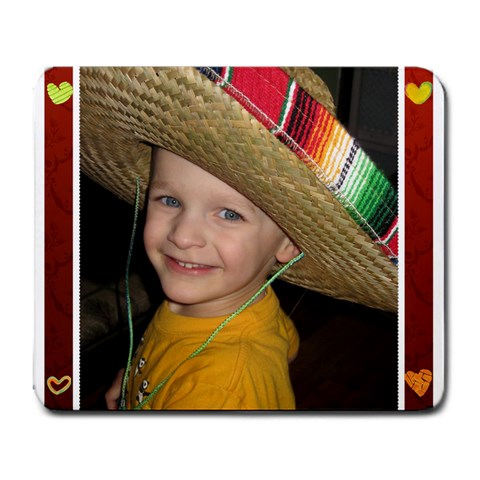 Sombrero Mousepad By Gretchen Musa   Large Mousepad   Jzt4zg9chs3s   Www Artscow Com Front