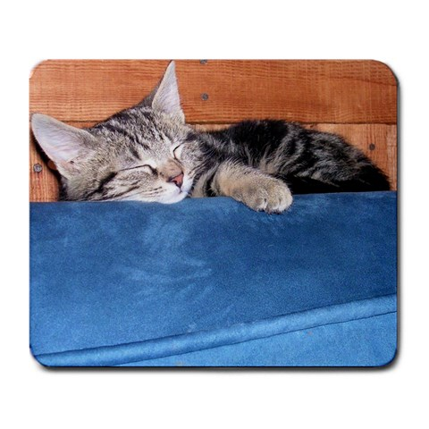 Sleepy Percy By Laurie Foster   Large Mousepad   Zhojz5za82va   Www Artscow Com Front