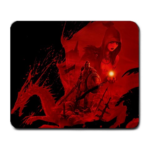 Dragon Age Mouse Pad By Derek Wimmer   Large Mousepad   4kg2ih3o24xu   Www Artscow Com Front