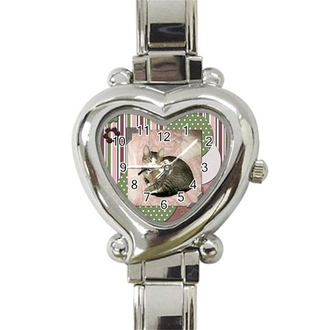 Roo By Terry Muse   Heart Italian Charm Watch   23hz4uerc21k   Www Artscow Com Front