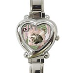 Roo - Heart Italian Charm Watch