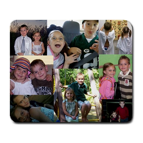 Kids By Jamie Secor Hock   Collage Mousepad   Rfa5qp1u8t7i   Www Artscow Com 9.25 x7.75 Mousepad - 1