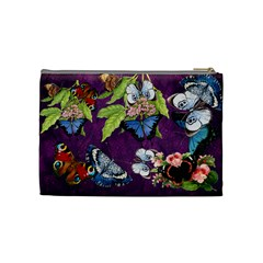 Butterfly Design Bag By Thia Beniash   Cosmetic Bag (medium)   D7emt7ow6ido   Www Artscow Com Back