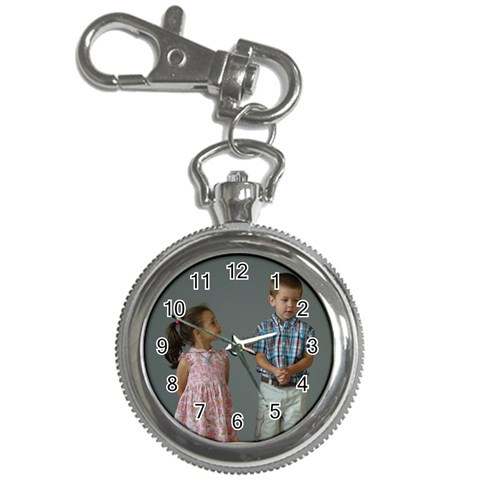 Looking Up To Her Little Brother By Bethnoel   Key Chain Watch   K5ufric3w75i   Www Artscow Com Front