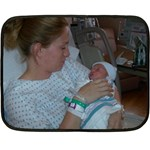 tinas xmas - Fleece Blanket (Mini)