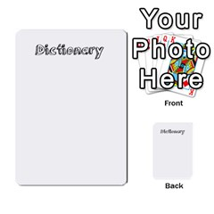 Truancy Cards By Sean   Multi Purpose Cards (rectangle)   8e3267fohu78   Www Artscow Com Front 48