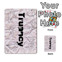 Truancy Cards By Sean   Multi Purpose Cards (rectangle)   8e3267fohu78   Www Artscow Com Back 50