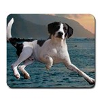 Elvis on Water - Large Mousepad