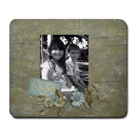 Stormy And John By Brittney   Large Mousepad   4lkyjgov0zyd   Www Artscow Com Front