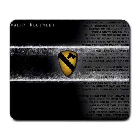 7th Cavalry By Andre Martinez   Large Mousepad   2u8nwvdqaepk   Www Artscow Com Front