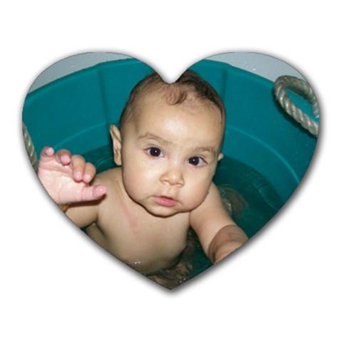 Neeka In Heart By Arienna Packham   Heart Mousepad   Mvmqds2my0zh   Www Artscow Com Front