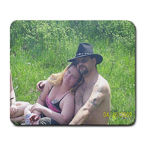 Happy Anniversary By Patti Rogers   Large Mousepad   Ygqpoxyy2tng   Www Artscow Com Front