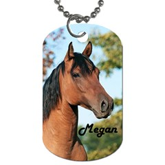 2megan Horse Fluerdelis By Kenneth   Dog Tag (two Sides)   3t4k7px97z1n   Www Artscow Com Front