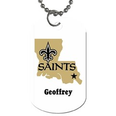 Geoffrey Lsu Saints By Kenneth   Dog Tag (two Sides)   Gzv2eiin50fs   Www Artscow Com Back