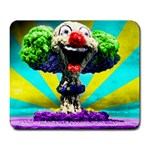 nuclear clown - Large Mousepad