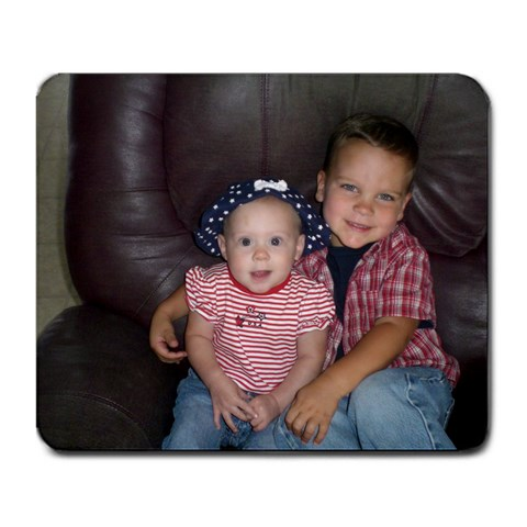 Brandon And Lynndsey By Amanda Basinger   Large Mousepad   M73qbd3vvpcg   Www Artscow Com Front