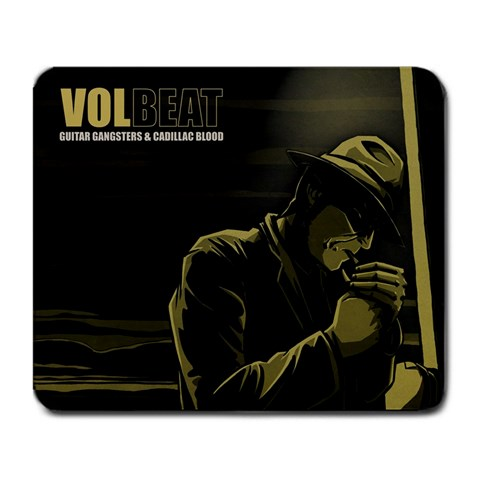 Volbeat By Isalim Harem   Large Mousepad   Q9wqaeyaduxx   Www Artscow Com Front