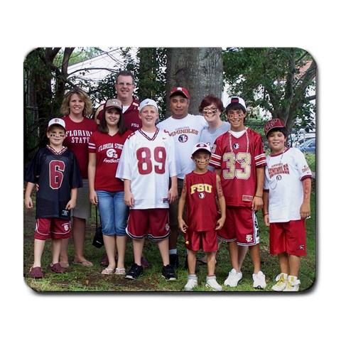 Fsu Mousepad By Kathy   Large Mousepad   M72gkfplxtyy   Www Artscow Com Front