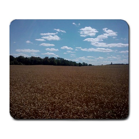 Wheat Sky By Andrew Shupp   Large Mousepad   Q03a6uunbo02   Www Artscow Com Front