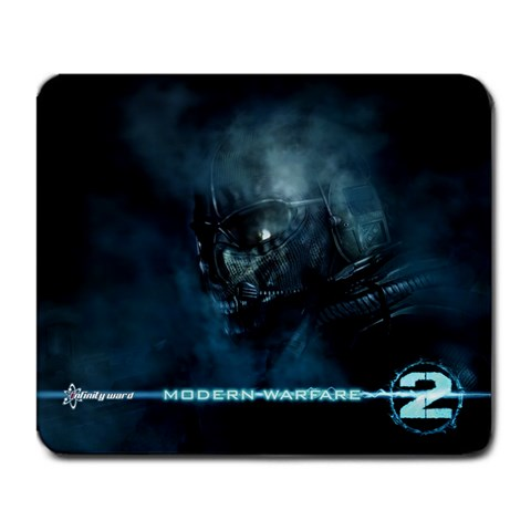 Ghost Mw2 By Mo Alam   Large Mousepad   Lrky2pee9ldu   Www Artscow Com Front