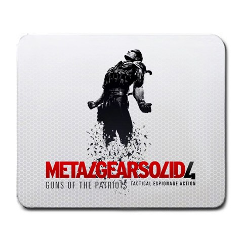 Metal Gear By William Mcdouble Williams   Large Mousepad   Rrdiso7e2s2i   Www Artscow Com Front