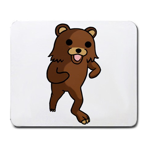 Pedobear By Jared Wilson   Large Mousepad   N45axq2eoaif   Www Artscow Com Front