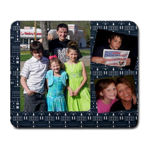 Mousepad By Jennifer Yowell   Collage Mousepad   C5o5kgx57hge   Www Artscow Com 9.25 x7.75 Mousepad - 1