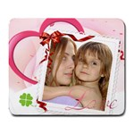 Love mouse pad - Large Mousepad