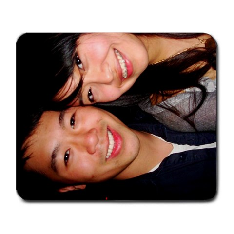 Pat And Viv 2 By Patrick   Large Mousepad   M0nmuec5bqsn   Www Artscow Com Front