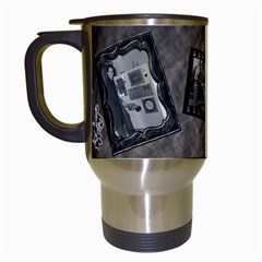 Carter Mug By Cjk   Travel Mug (white)   Podloyncqc5x   Www Artscow Com Left