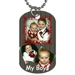 irvy s tag - Dog Tag (One Side)