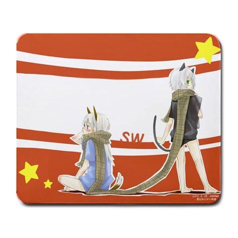 Eilanya By Shirai Kuroko   Large Mousepad   37bkj4hrt7m7   Www Artscow Com Front