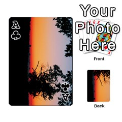 Ace Playing Cards By Jessica Meadows   Playing Cards 54 Designs   75lata6z805s   Www Artscow Com Front - ClubA