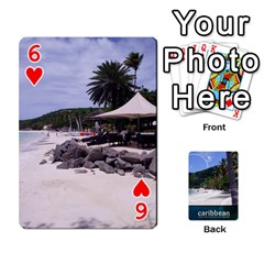 Caribbean Playing Cards By Asha Vigilante   Playing Cards 54 Designs   N8mh1ktokbii   Www Artscow Com Front - Heart6