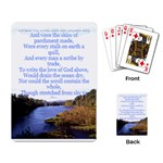The love of God playing cards - Playing Cards Single Design