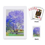 Jacaranda Tree cards - Playing Cards Single Design