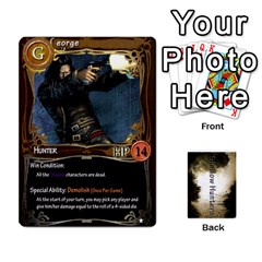 Shadow Hunters Cards By Brian M   Playing Cards 54 Designs   V46j8ianhtu8   Www Artscow Com Front - Heart8