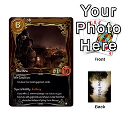 Shadow Hunters Cards By Brian M   Playing Cards 54 Designs   V46j8ianhtu8   Www Artscow Com Front - Diamond10