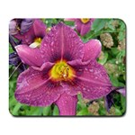 purple flower - Collage Mousepad