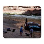grand canyon raft trip - Large Mousepad
