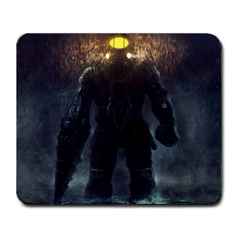 Bioshock By Bruce Wayne   Large Mousepad   3p76cl4pcgc8   Www Artscow Com Front