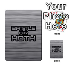Battle For Hoth By Simon   Multi Purpose Cards (rectangle)   6hj7o6uztcfk   Www Artscow Com Front 51