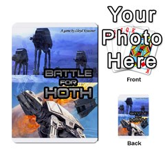 Battle For Hoth By Simon   Multi Purpose Cards (rectangle)   6hj7o6uztcfk   Www Artscow Com Front 52