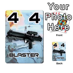 Battle For Hoth By Simon   Multi Purpose Cards (rectangle)   6hj7o6uztcfk   Www Artscow Com Front 17
