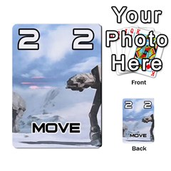 Battle For Hoth By Simon   Multi Purpose Cards (rectangle)   6hj7o6uztcfk   Www Artscow Com Front 22